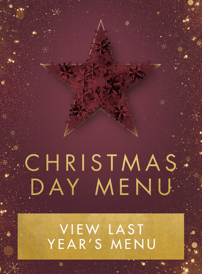Christmas Day menu