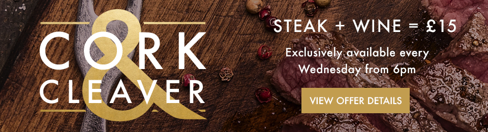Steak Night Offer - Now at Miller & Carter Epping Forest
