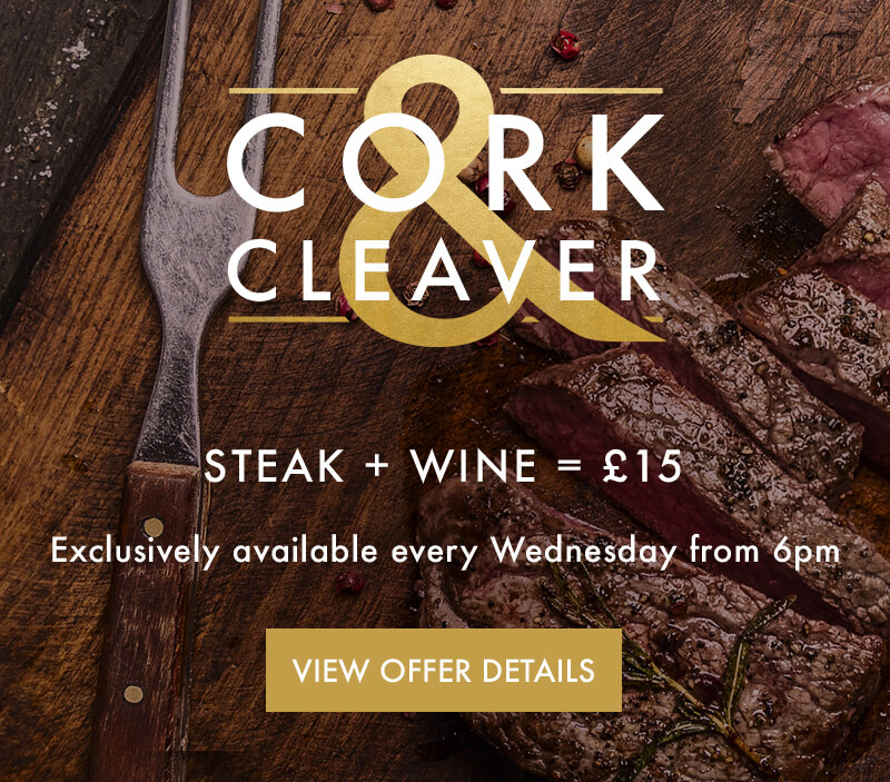 Cock & Cleaver - Steak & Wine Night