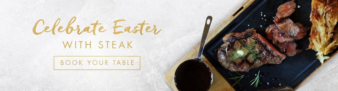 Book Now for Easter at Miller & Carter Thornhill