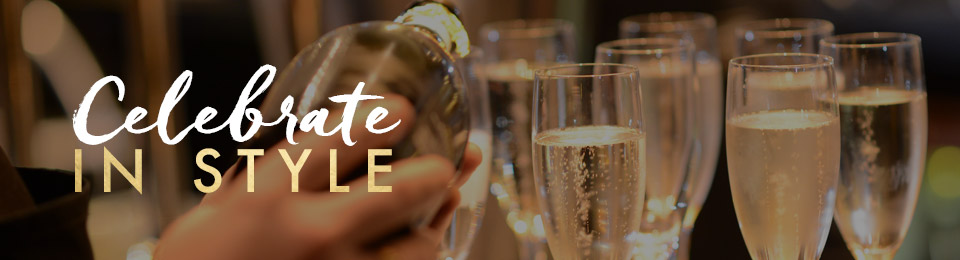 Celebrate in style at Miller & Carter Lakeside