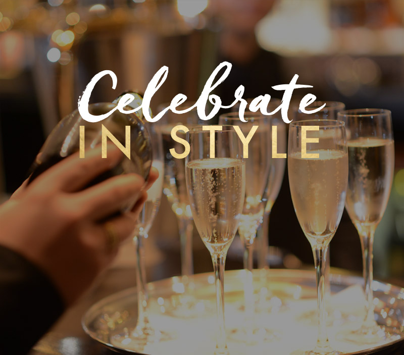 Celebrate in style at Miller & Carter