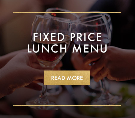 Fixed price lunch at Miller & Carter