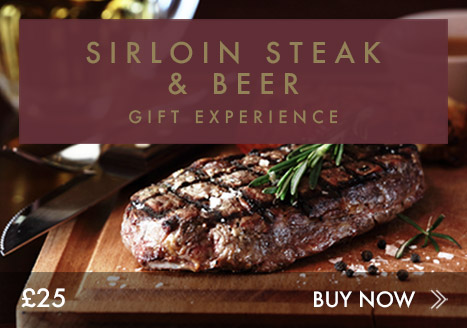 Sirloin steak & beer experience