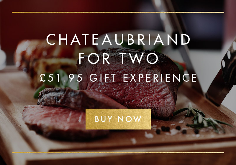 Chateaubriand for two experience