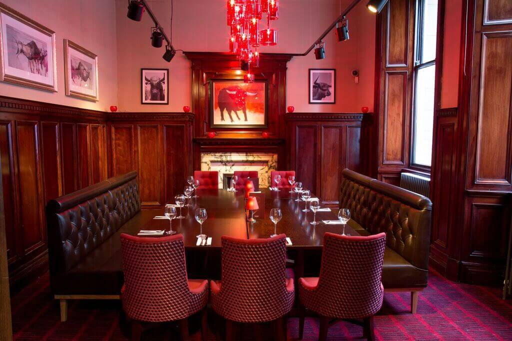 Private Dining at Miller & Carter Glasgow