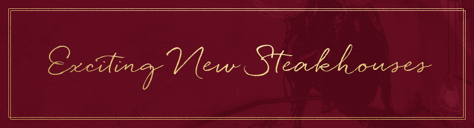 Exciting new Miller & Carter steakhouses