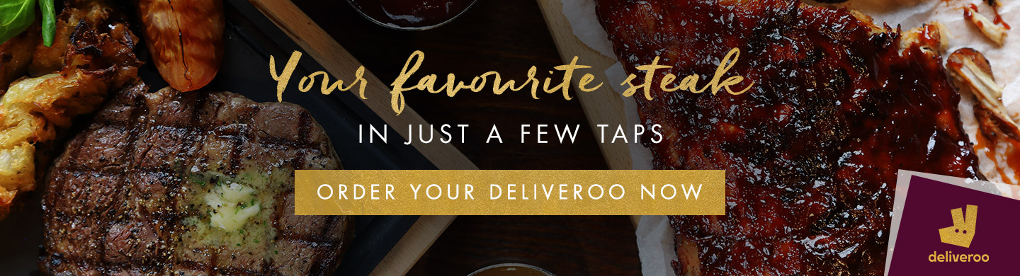 Deliveroo at Miller & Carter Harlow