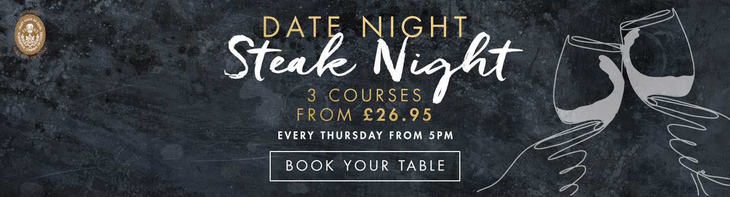 Dates & Steaks at Miller & Carter Bournemouth
