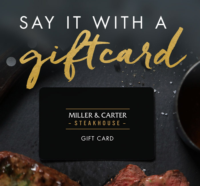 Father's Day gift vouchers and steak experiences