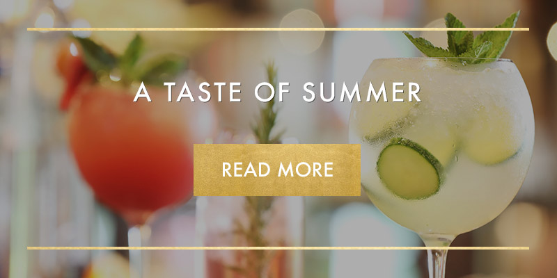 Summer drinks at Miller & Carter