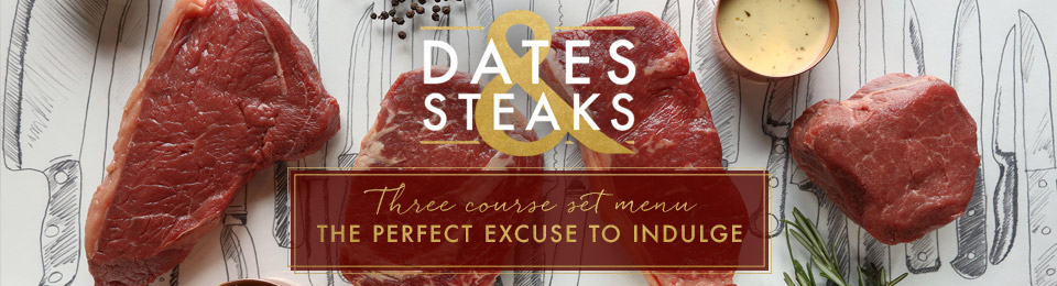 Dates & Steaks at Miller & Carter Leeds Light