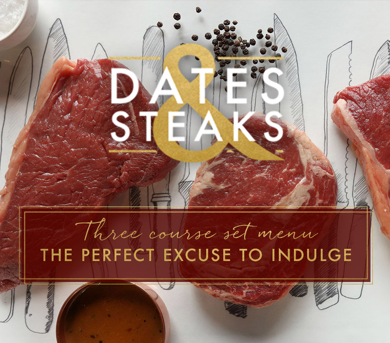 Dates & Steaks at [outlet]