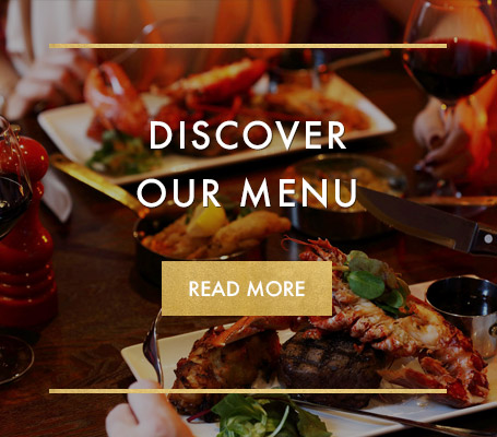 Our brand new menu at Miller & Carter