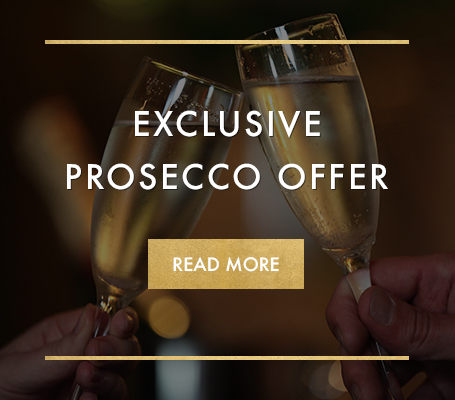 Exclusive prosecco offer at Miller & Carter