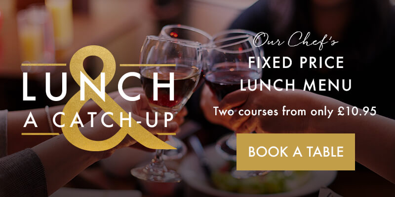 Lunch offer at Miller & Carter Wollaton