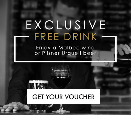 Exclusive Free Drink when you Sign Up