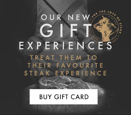 Gift experiences at Miller & Carter
